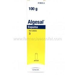 Algesal espuma 100 g