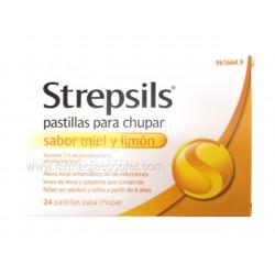 Strepsils miel-limón 24...