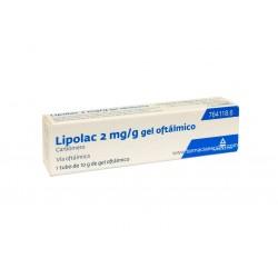 Lipolac gel oftalmico 10 g