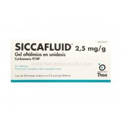 Siccafluid gel oftalmico 30...