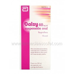 Dalsy jarabe 40 mg/ml 150 ml