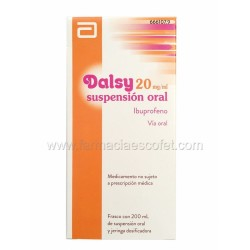 Dalsy jarabe 20 mg/ml 200 ml