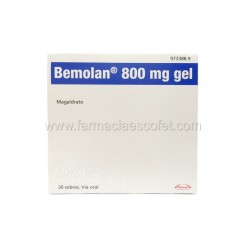 Bemolan gel 800 mg 30 sobres