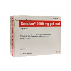 Bemolan gel 2000 mg 30 sobres