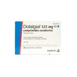 Dolalgial 125 mg 20...