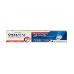 Steradent 30 comprimidos...