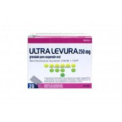 Ultra Levura 250 mg 20 sobres