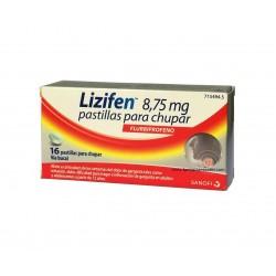 Lizifen 16 pastillas para...