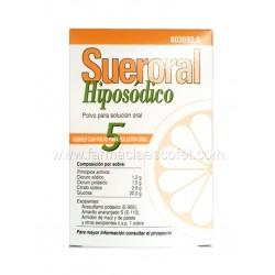 Sueroral Hiposodico 5 sobres
